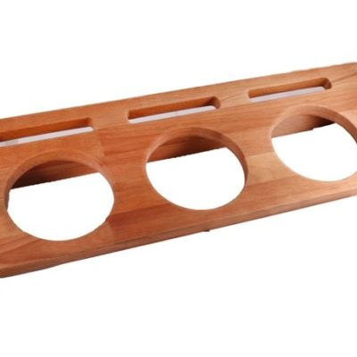 Dřevěný stojan na 3x hrnec průměr 10 cm