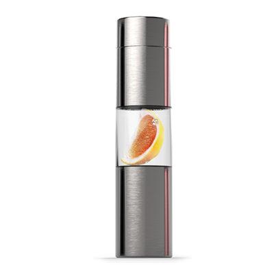 Elegantní láhev U SEE 460ml nerezová s infusérem