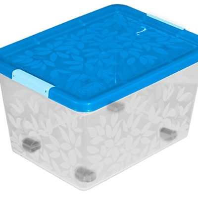 Jasmine- úložný kontejner/box s víkem 55l