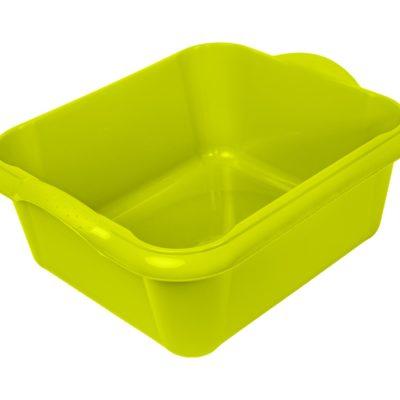 Obdelníková mísa/lavor 14l - zelená