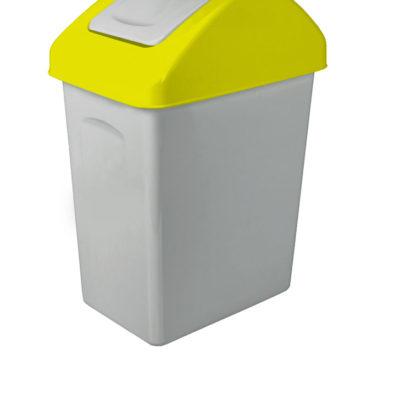 Odpadkový koš s výklopným víkem 10l