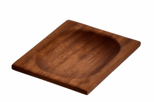 Lava wood - servírovací miska 15x12 cm