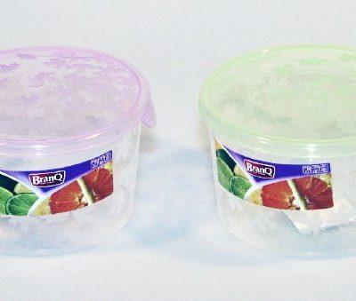 Dóza na potraviny Rukkola 0,5l -kulatá