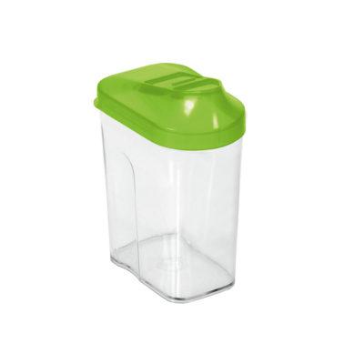 Dóza na potraviny s dávkovačem Easy Way 0,25l - zelená
