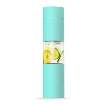 Elegantní mátová láhev s infusérem 460ml