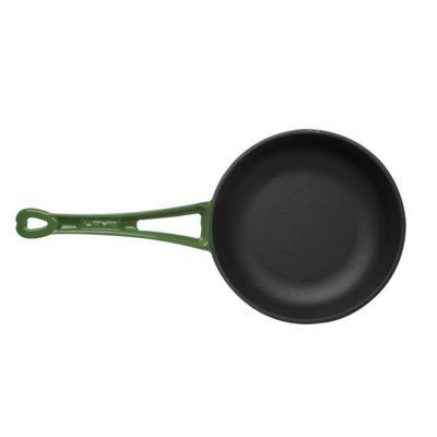 Litinová pánev 24cm - zelená