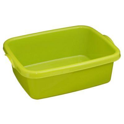 Obdelníková mísa/lavor 10l - zelená