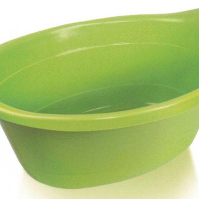 Oválná mísa/lavor 14l - zelená