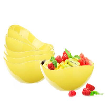 Salátová miska D-120 žlutá